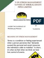 A Study on Stress Management[1][1] - Copy