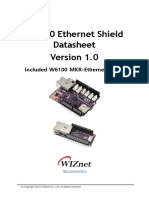w6100 Ethernet Shield Ds v100e