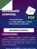 1° ORTOGRAFÍA ACENTUAL