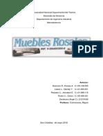 Trabajo Final Mercadotecnia - Muebles Los Rosales
