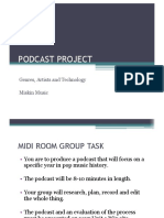 Podcast Project