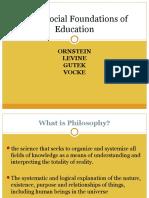 philosophicalfoundationofeducation-160828103500
