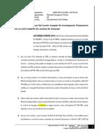 Desistimiento de Preetension - Caso Habeas Corpus