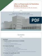 Qualificação_Apresentação_Reflexões e Desafios Na Preservação Do Patrimônio Moderno