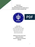 Makalah Pengantar Bisnis p1, Departemenisasi Pt Indofood (1)