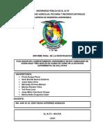 Informe Final de Avena