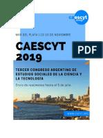 Segunda Circular - CAESCYT