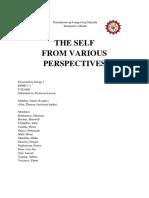 understanding the self group 1