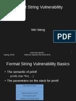 Format String Attack