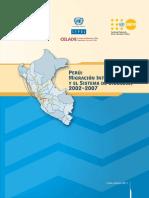 INEI-Perú- Migración Interna Reciente y El Sistema de Ciudades 2002-2007
