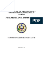 Guidelines Firearms
