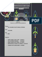Conciencia Medio Ambiental(Analisis de Acologia)