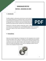 Elementos de maquinas - Engranajes