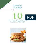 10 Recettes Végétariennes Faciles à Préparer