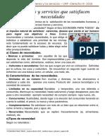 Los bienes y servicios que satisfacen necesidades.docx