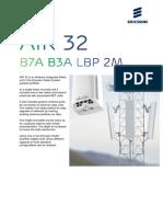 AIR 32 B7A B3A LBP 2m Datasheet