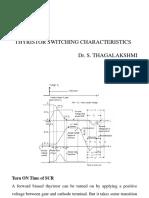 Thyristor Switching Characteristics