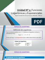 05 - UNIDAD 5 - EXPONENCIALES Y LOGARITMICAS- modificado estre.pptx