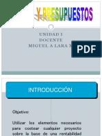 Unidad i Conceptos Clasificación Elementos 2017