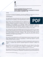 Resolucion SEDEM 0154-2015 - APROBACIÓN DEL MANUAL DE ORGANIZACIÓN Y FUNCIONES - EBA