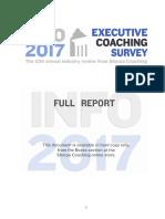 2017 Executive Coaching Survey FINAL