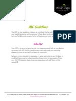 Sample MC Guidelines