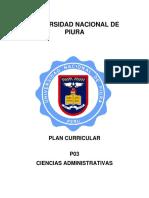 Plan Curricular 01