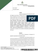 Fallo Guerrieri III - 2017