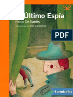 El Ultimo Espia - Pablo de Santis