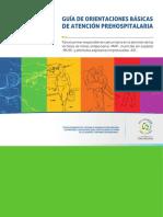 Guía de Orientaciones Básicas de Atención Prehospitalaria
