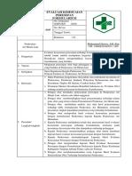 8.2.1.8. .SOP Kesesuaian Peresepan Dengan Formularium Hasil Evaluasi Dan Tindaklanjut
