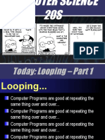 Looping Part 1 (Lecture)