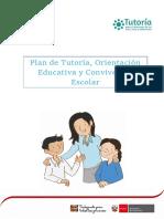 Plan de Tutoria Institucional