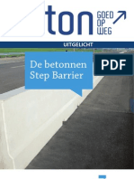 De Betonnen Step Barrier