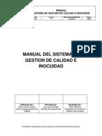 Manual del sistema de gestión de calidad e inocuidad