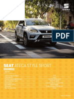 Others Technical Data Info Ateca Style Sport Na June 2019