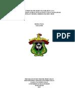 Hydrograph Debit Banjir Rencana DAS Tallo Makassar HEC-HMS