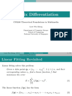 Matrix differentiation rules and application