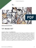 137. Monster OST _ El Blog Incómodo…