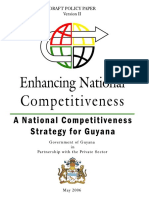 National Competitiveness Strategy for Guyana 2006