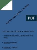 Perubahan Mater Dan Energi