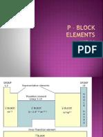 p Block Elements-a