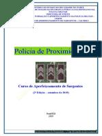 00) Apostila de Polícia de Proximidade - CAS 2019 (Nova)