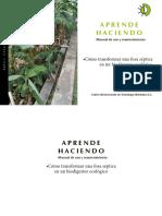 Manual de Conversion Fosa Séptica a Biodigestor Ecológico