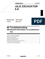 PC78US-8 General Information on Troubleshooting