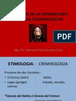 Psicologia de La Criminología y Teorias Criminologicas