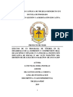 Proyecto de Investigacion de Universidad Católica de Trujillo Benedicto Xvi