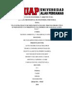Plan Estrategico de Implementacion Del Proceso Productivo Ecoeficiente y Ecodiseño
