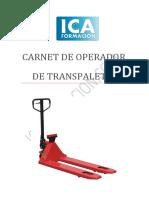 Carnet de operador de transpaletas - ICA Formacion.pdf