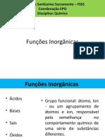 Química Aula 7 - Funções Inorgânicas Bases e Ácidos